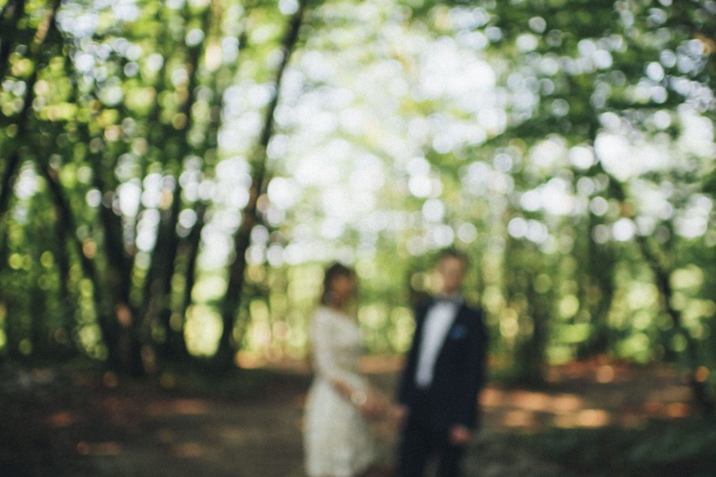 intimate wedding at plitvice lakes
