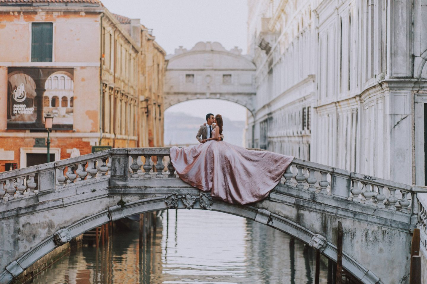 best places weddings honeymoon engagement photos venice bridge of sighs
