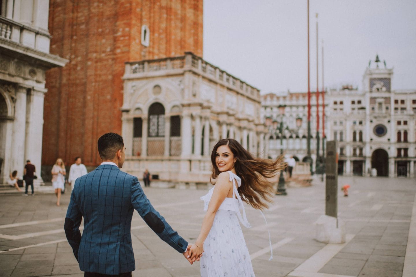 best places weddings honeymoon engagement photos venice piazzeta san marco