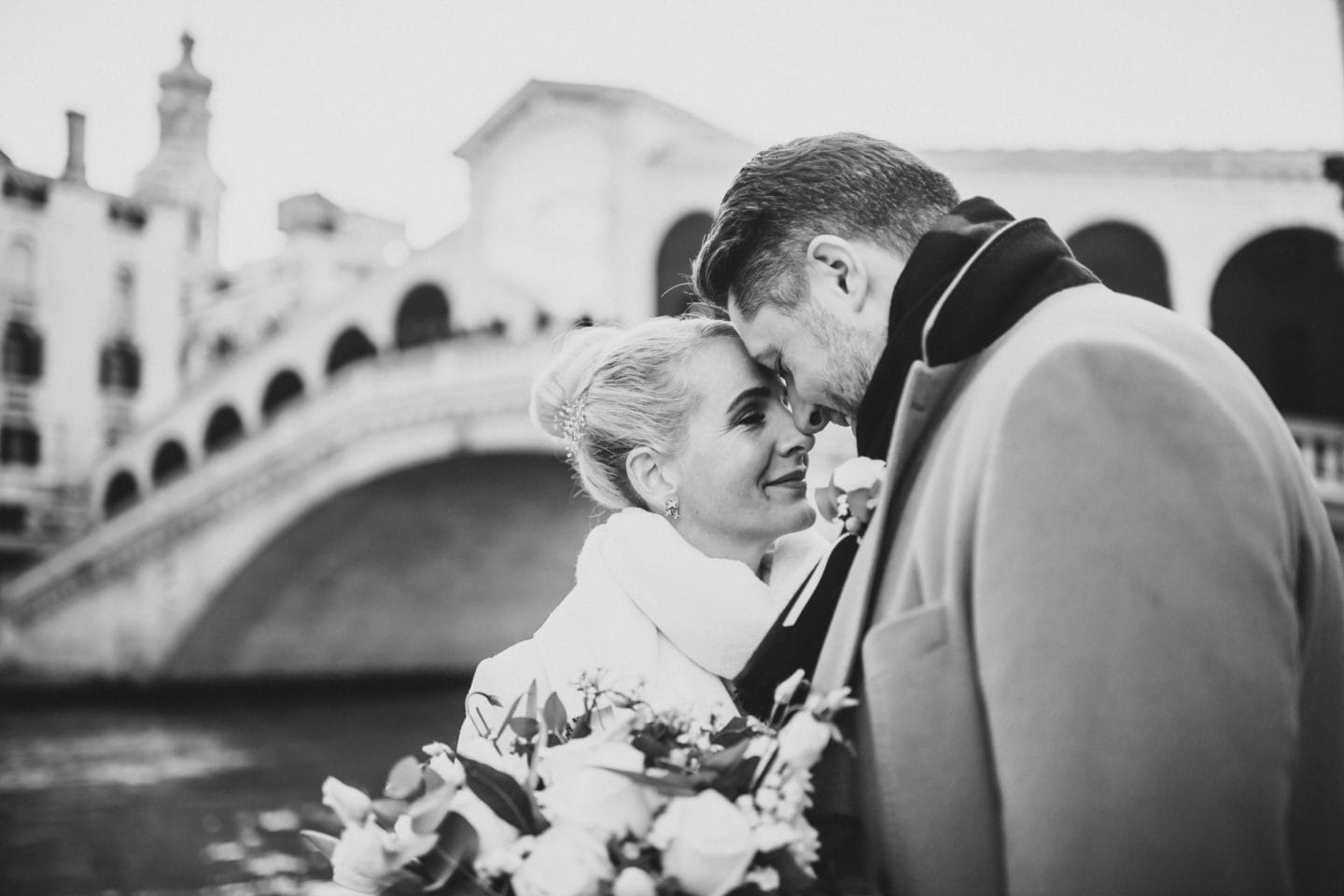 best places weddings honeymoon engagement photos venice rialto bridge