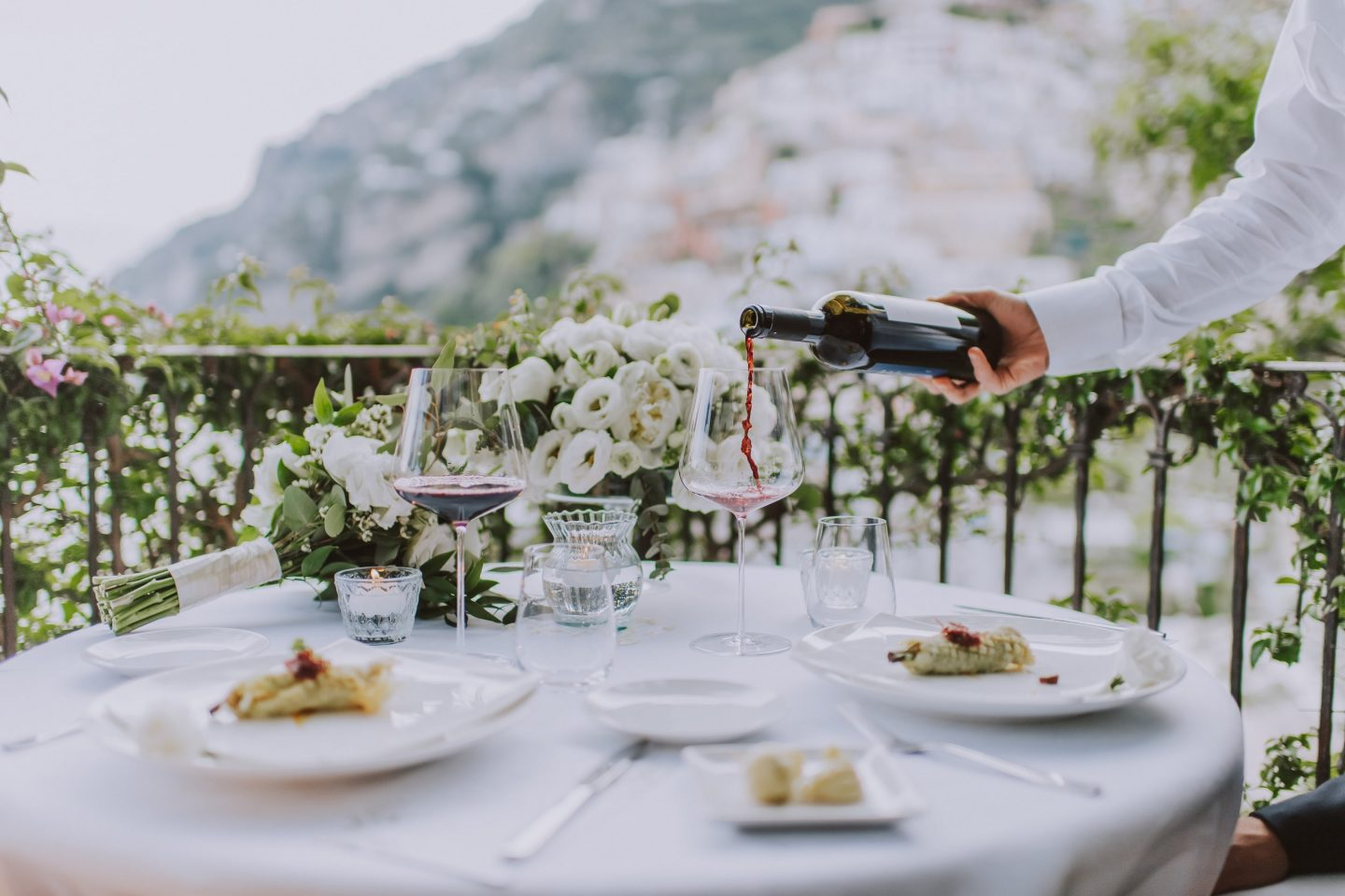 positano elopement photographer amalfi coast rada restaurant